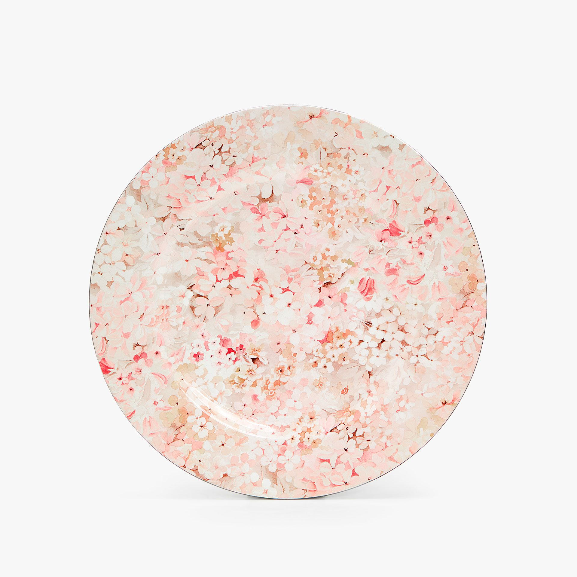 Image 1 of the product MINI FLORAL PRINT CHARGER PLATE