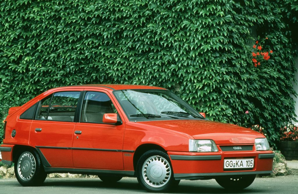 Opel Kadett Gsi E 1988 Vauxhall Astra Classic Cars Vauxhall