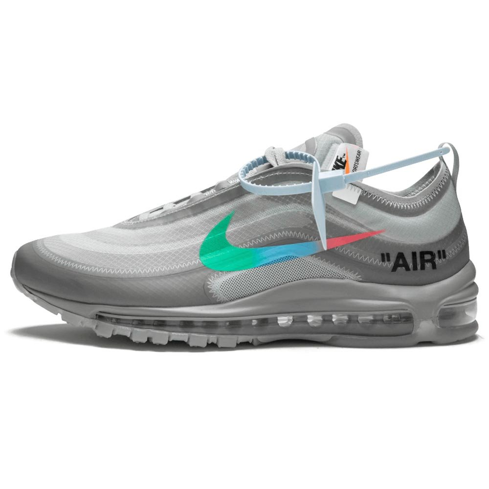 Fashion! Off White x Nike Air Max 97 Running Shoes 36 45