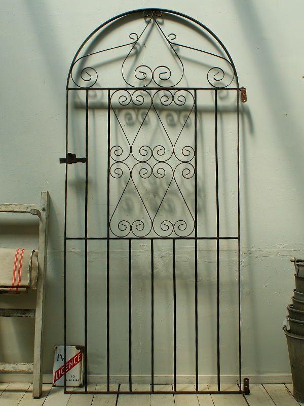 イギリスアンティーク アイアンフェンス ゲート柵 ガーデン 2325