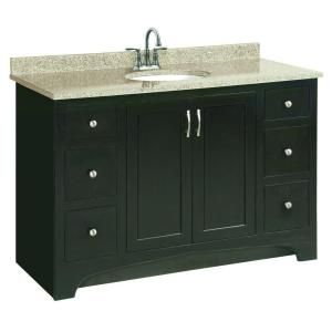Design House Ventura 48 in. W x 21 in. D Vanity Cabinet Only in Espresso-541292 at The Home Depot