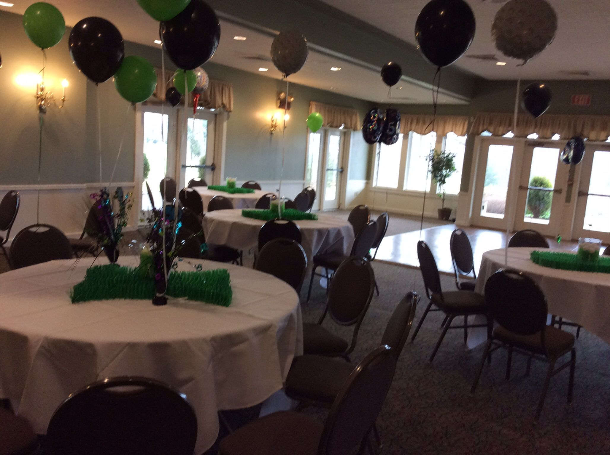 Our excellent staff can help you plan even a themed party!.