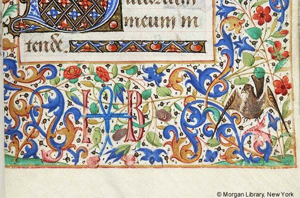 Book of Hours, MS G.1.I fol. 81r - Images from Medieval and Renaissance Manuscripts - The Morgan Library & Museum
