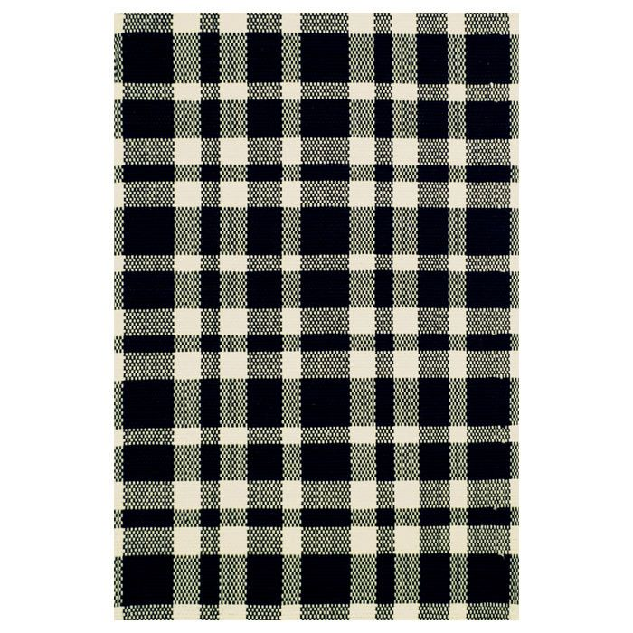Dash and Albert Rugs Hand Woven Black Area Rug | AllModern