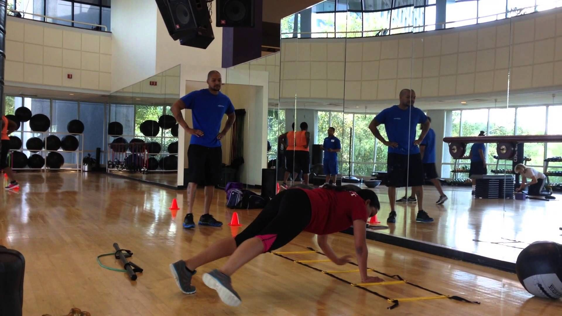 Atlanta Personal Trainer Program students train clients at ...