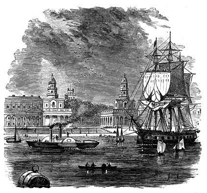 sailing the thames