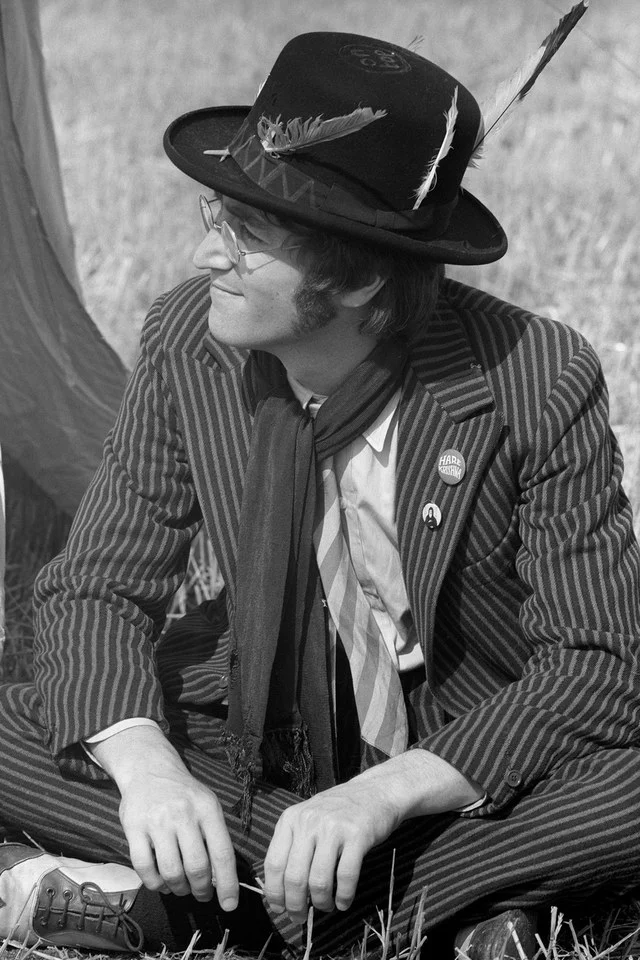 John Lennon was the most stylish musician of all time. Period