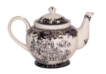 "Teapot + toile = ""A Good Thing"""