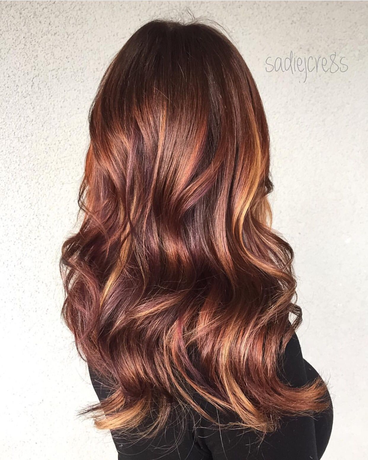 Depth And Richness Amazing Multidimensional Hair Color Design With