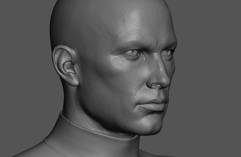 ArtStation - Mr X - Male Character Portrait , Andrei Cristea ...