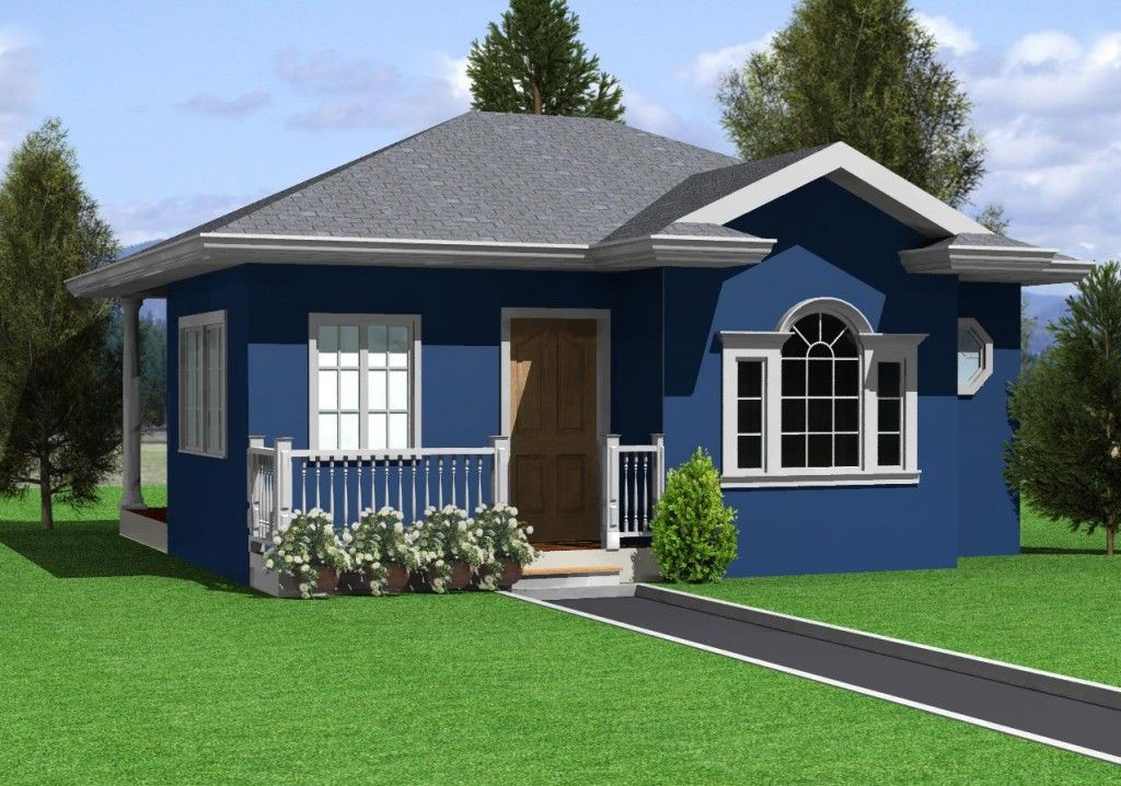 House Design Hernanie Ocean Blue Affordable House Plans Small House Design Philippines Simple House Design