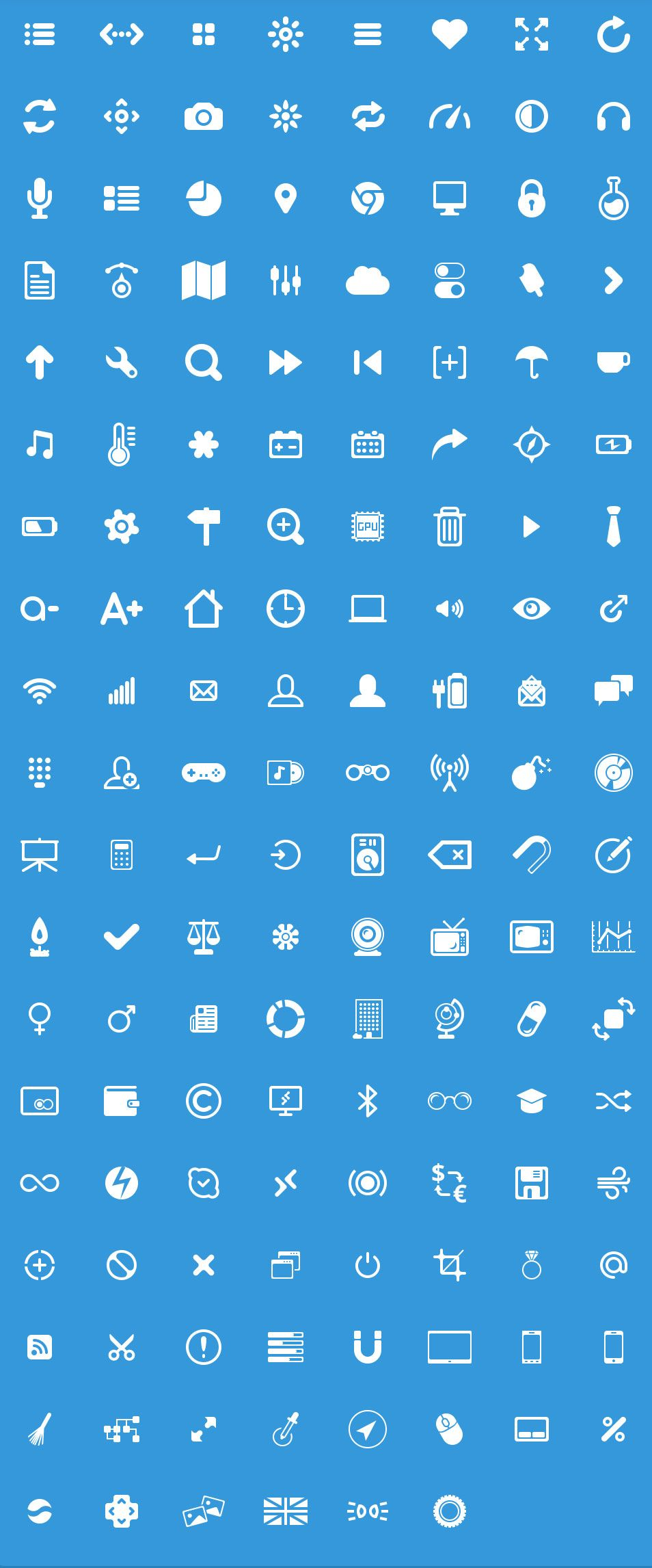 Glyphs Free PSD Icons Glifo, Logotipos, Pictogramas