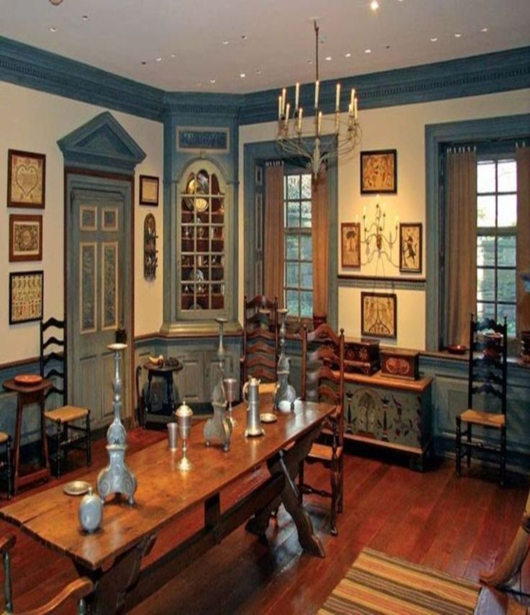 107 Best Images About Period Colonial Room Settings On: The Right Way To Use Trim In Old Houses