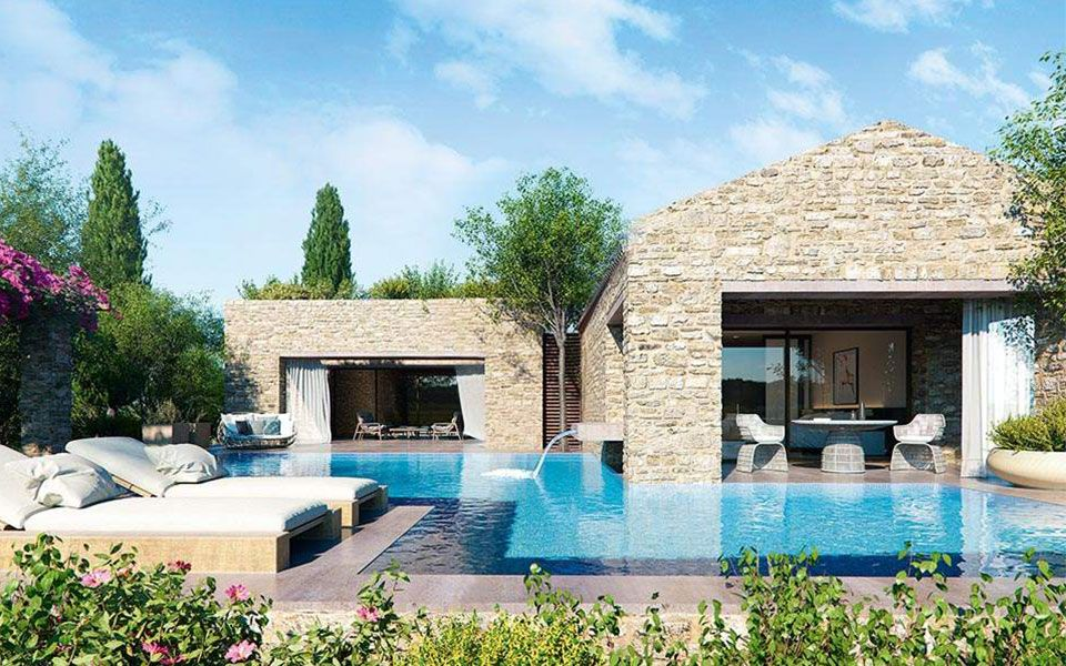 luxury branded residences on the rise in greece greece is luxury villas in greece luxury villa luxury homes pinterest