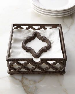 H6YQ6 GG Collection Ogee-G Napkin Holder