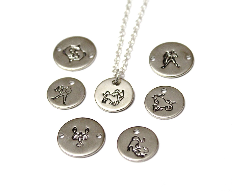 Zodiac necklace zodiac symbol charm necklace birthday necklace zodiac necklace zodiac symbol charm necklace birthday necklace birth month charm necklace by biocorpaavc