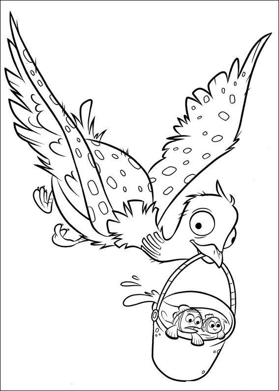 Desenhos para pintar Procurando Dory | teenick. | Pinterest | Craft