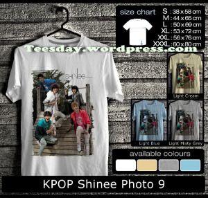 Kaos Shinee Indonesia Fans Kaos Couple Shinee Indonesia Fans Kaos Kpop Shinee Desain Terbaru Kaos Shinee Korean Pop Mens Tops Mens Tshirts Size Chart