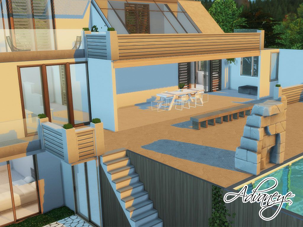 Aeolus By Advaneye In 2020 Sims 4 Build Sims 4 Building A House
