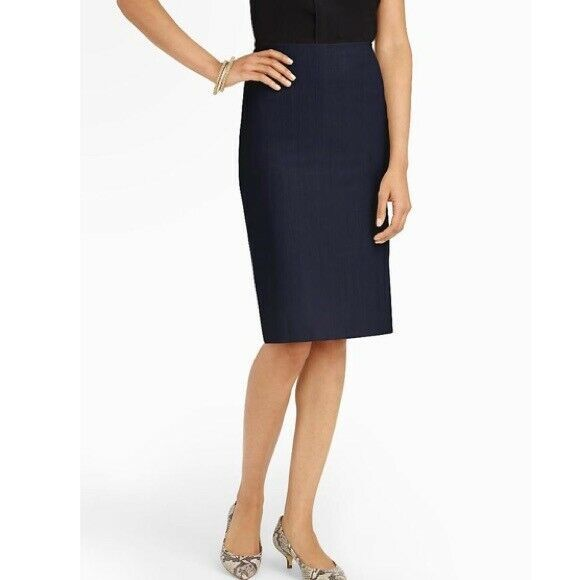 95db629af4 NWT Talbots Classic Navy Blue Pencil Skirt Size 4 #fashion #clothing #shoes  #accessories #womensclothing #skirts (ebay link)