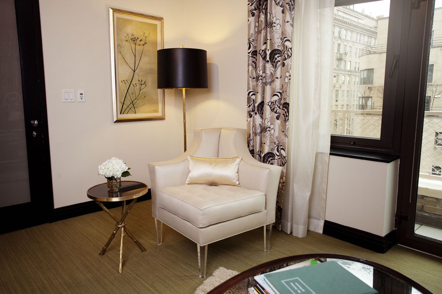 Upper East Side New York Apartment Guest Bedroom MM+A