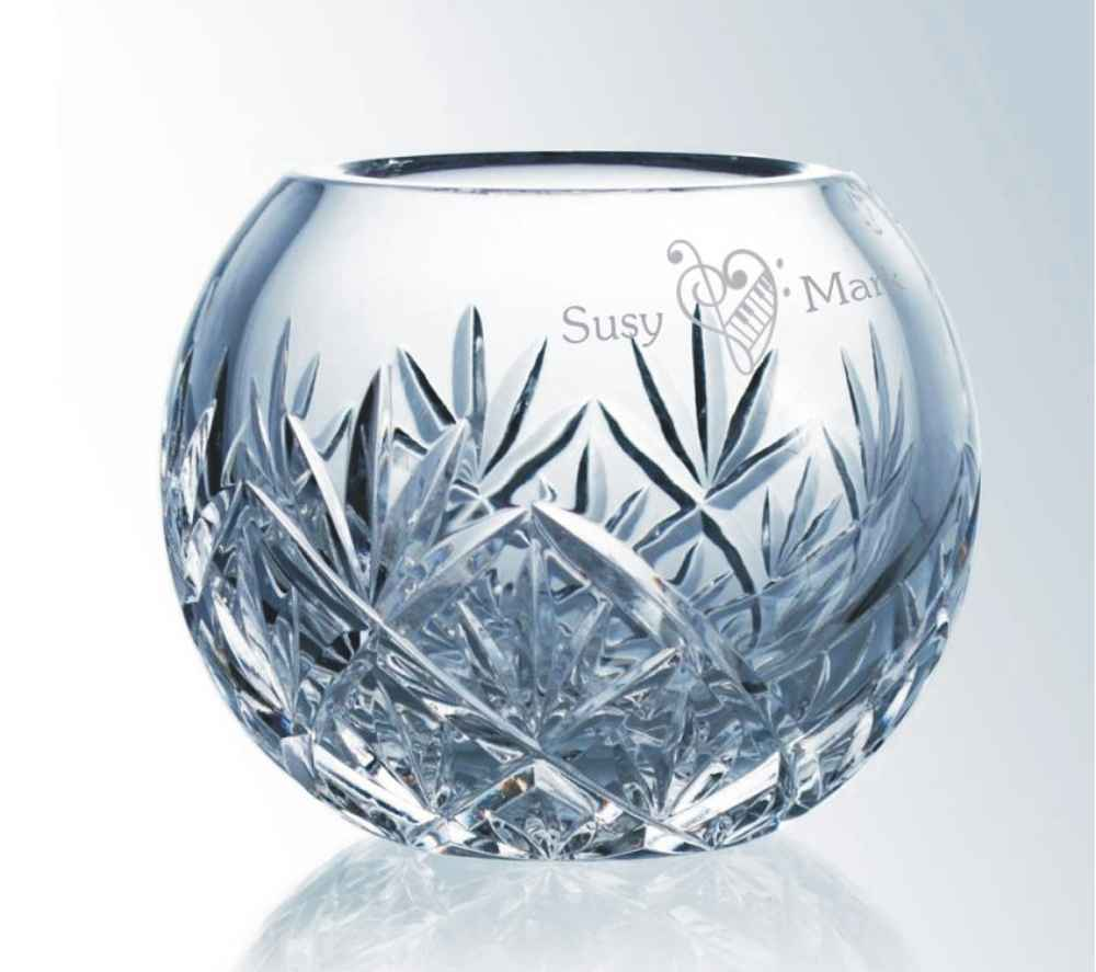 Crystal Bowls Custom Engraved for Special Occasions from ... on personalized ring, personalized mug, personalized sign, personalized ornament, personalized cup, personalized frame, personalized bag, personalized stone, personalized pillow, personalized bowl, personalized basket, personalized tiles,