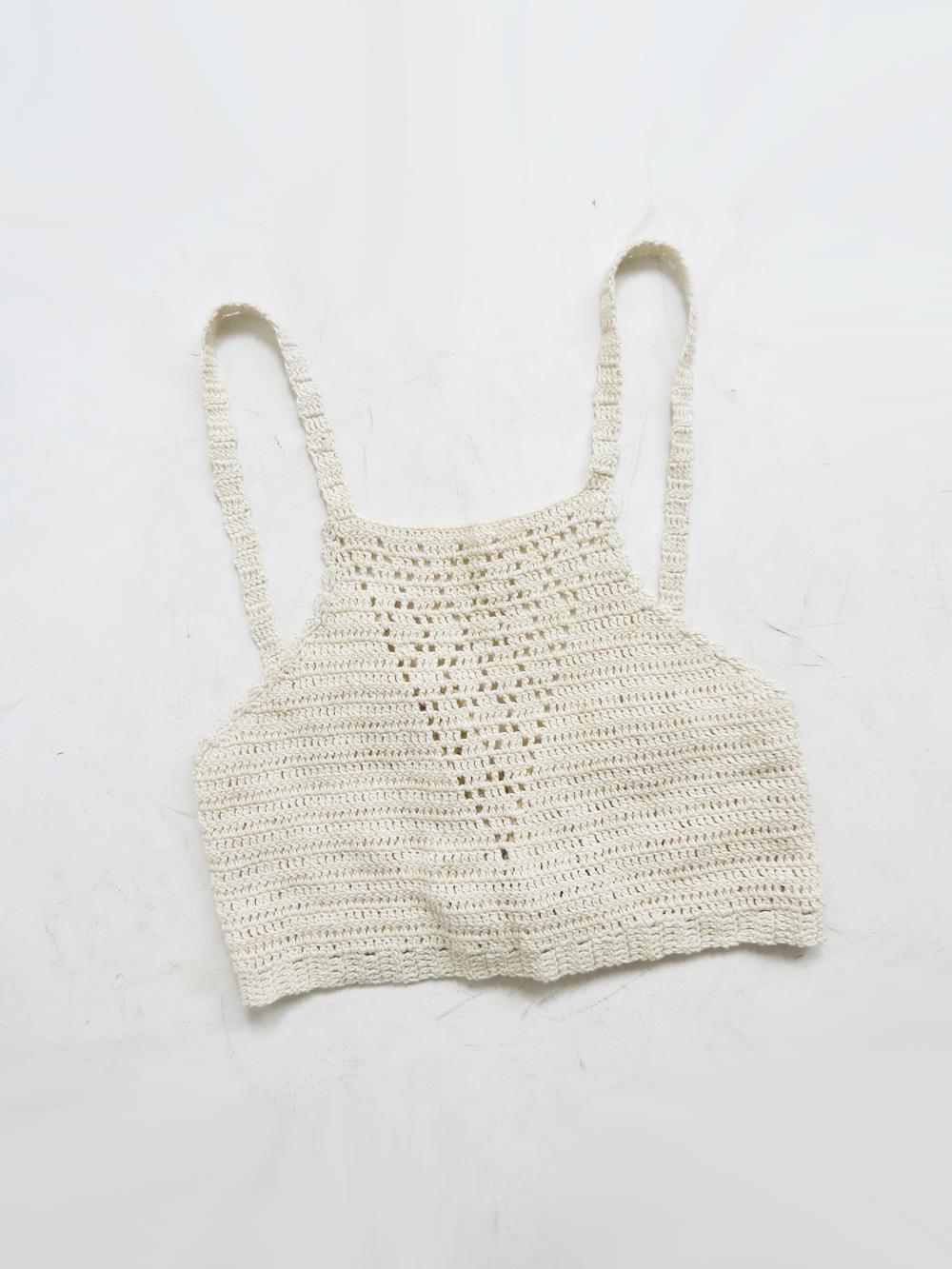 Indian Summer Top // Vintage 1970's Crochet Crop Top SOLD
