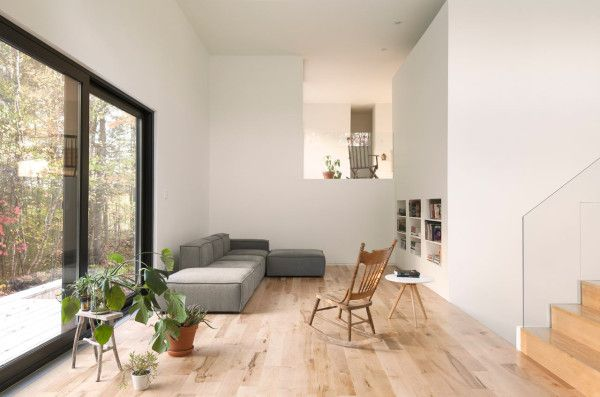 A 90s Split Level Bungalow Goes Modern Sheds Bungalows and