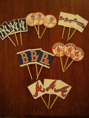 {create this} vintage baseball birthday party - Shaken Together