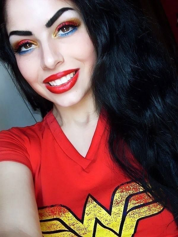 Wonder Woman Inspired Makeup | Makeup | Pinterest | Wonder Woman And Makeup