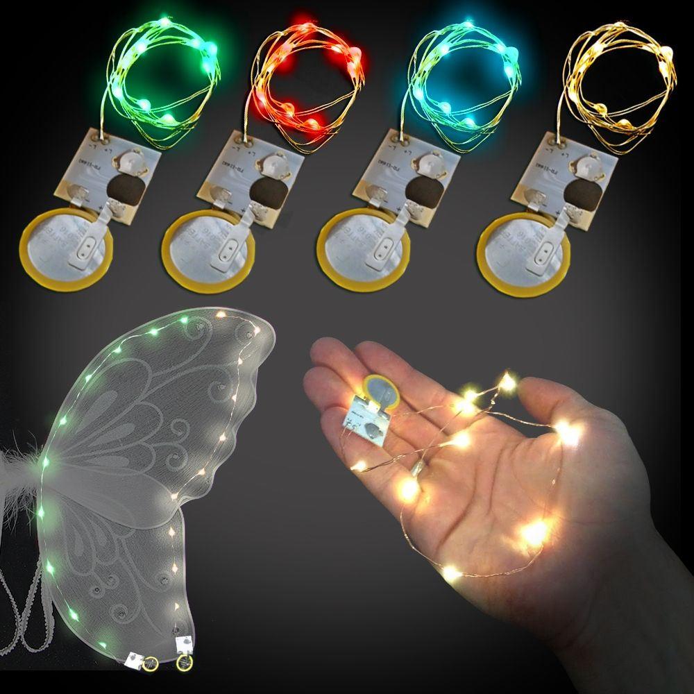 10 Colorful Fairy Lights, 20 Inch Wire - FW10L20 | Jellyfish | Pinterest