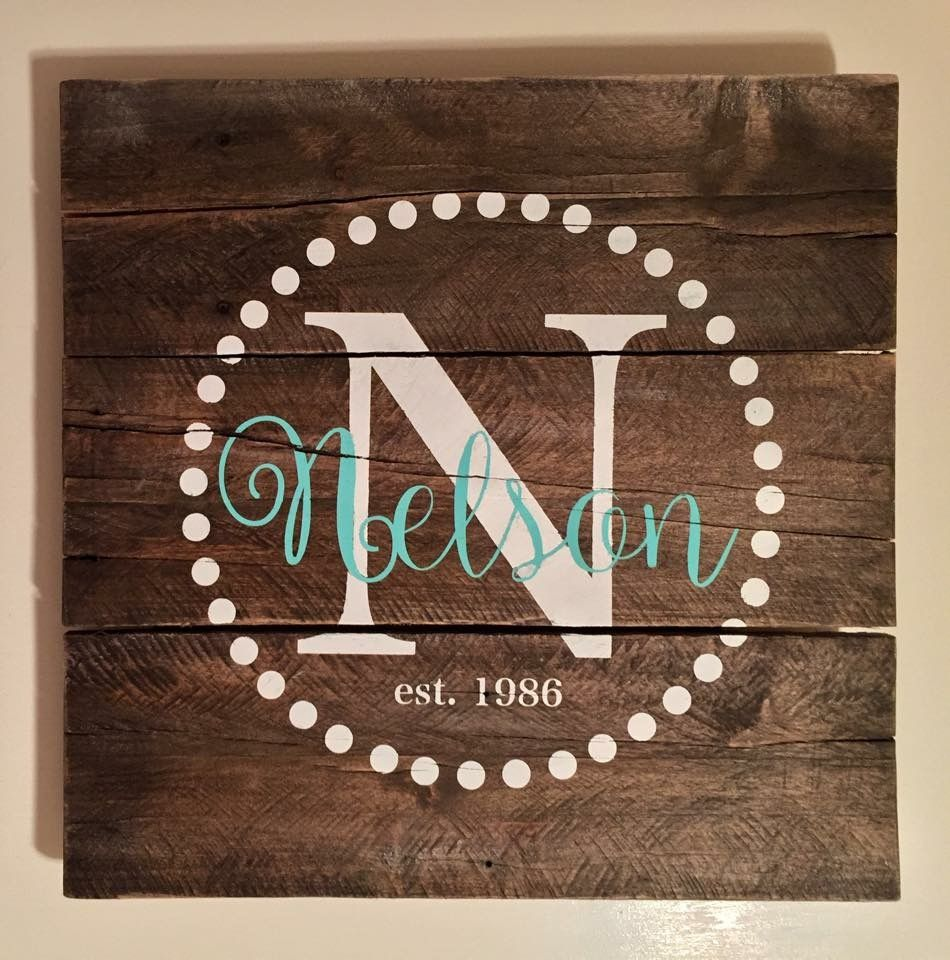 Pin by L Wallace on Canvas | Diy wood signs, Wood pallet ...