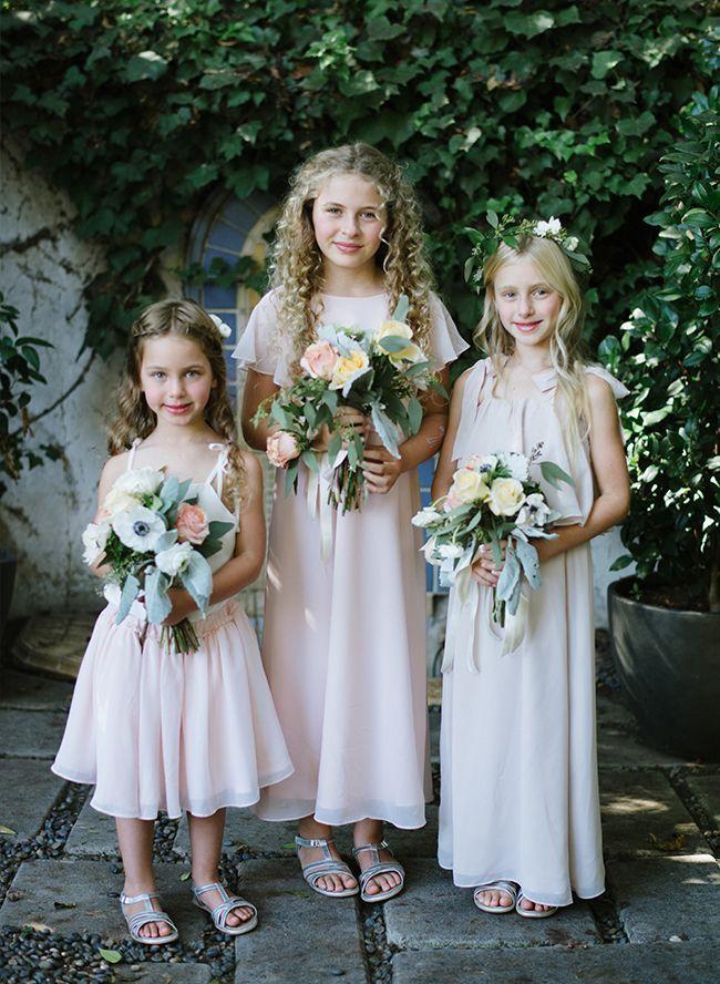 8 Adorable & Untraditional Flower Girl Dresses