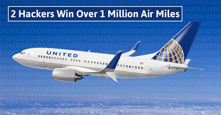 2 Hackers Win Over 1 Million Air Miles each for Reporting Bugs in United Airlines #esflabsltd #securityawareness #cybersecurity