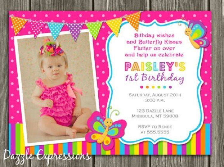 First Birthday Invitation On Facebook Check More At Http Cardpedia N Butterfly Birthday Invitations First Birthday Invitations Printable Birthday Invitations