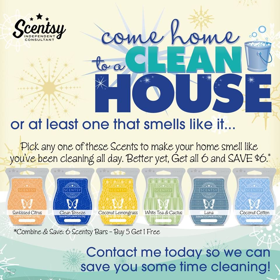 I love coming home to my house smelling like the maid just left! LOL  http://reneeroy.scentsy.ca