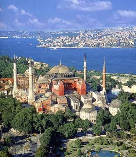 Hagia Sophia - Istanbul, the work of Justinian during the Byzantine empire