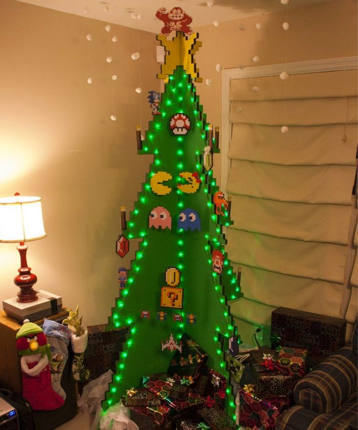 18 Of The Most Creative Christmas Tree Ideas