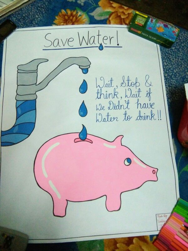 Save water | greeting cards | Pinterest | Save water