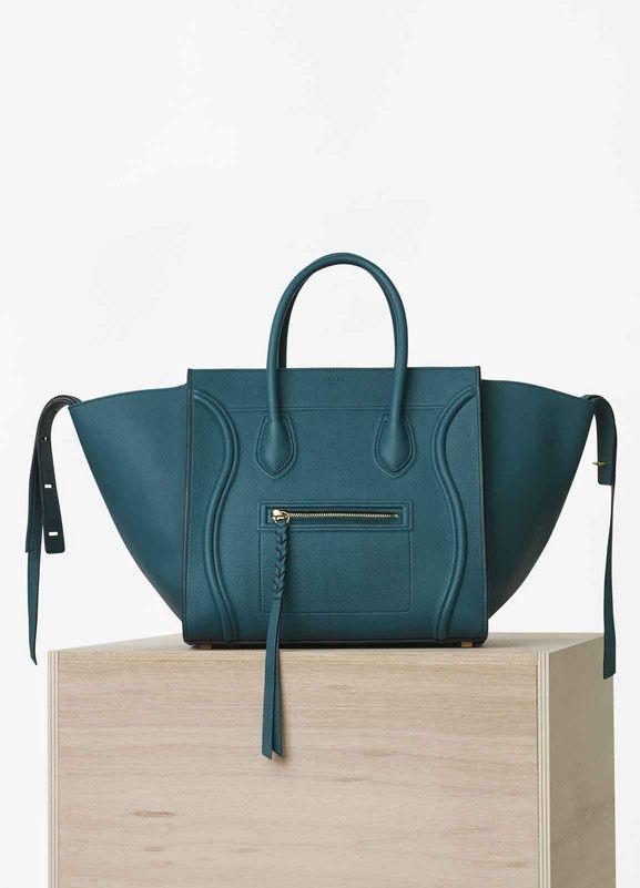 Celine Phantom Bag Medium Luggage Handbag In Baby Grained Calfskin