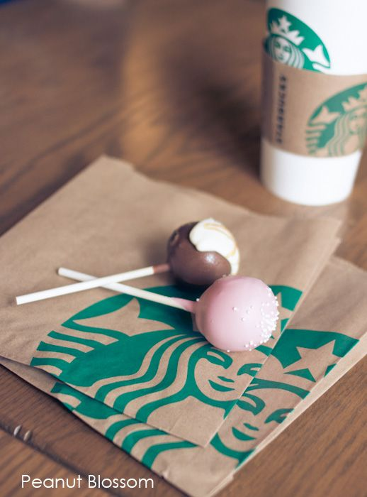 Starbucks cake pops.