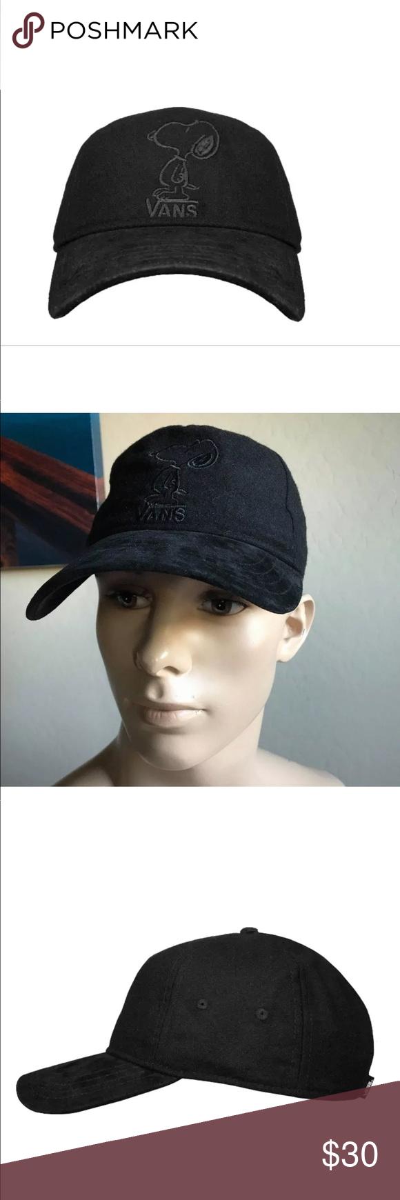 05fbec6221e Vans Men s Tonal Dugout X Peanuts Strapback Hat AUTHENTIC VANS Tonal Dugout  X Peanuts Strapback Hat Peanuts novelty logo SIZE   ONE SIZE RETAIL    34+tax ...