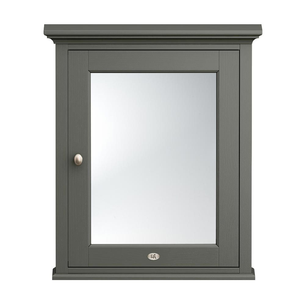 Old London Traditional Mirror Cabinet 650mm Wide Charcoal Traditional Bathroom Mirrors Traditional Bathroom Bathroom Mirror Cabinet