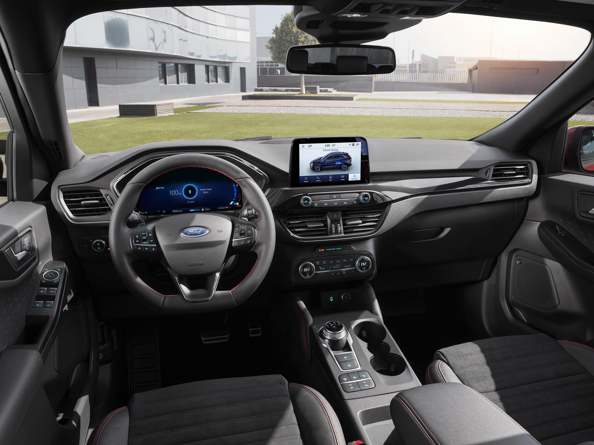 Bilder Details Und Motoren Zum Neuen Ford Kuga 2020 Mit Hybrid Ford Motor Ford Focus