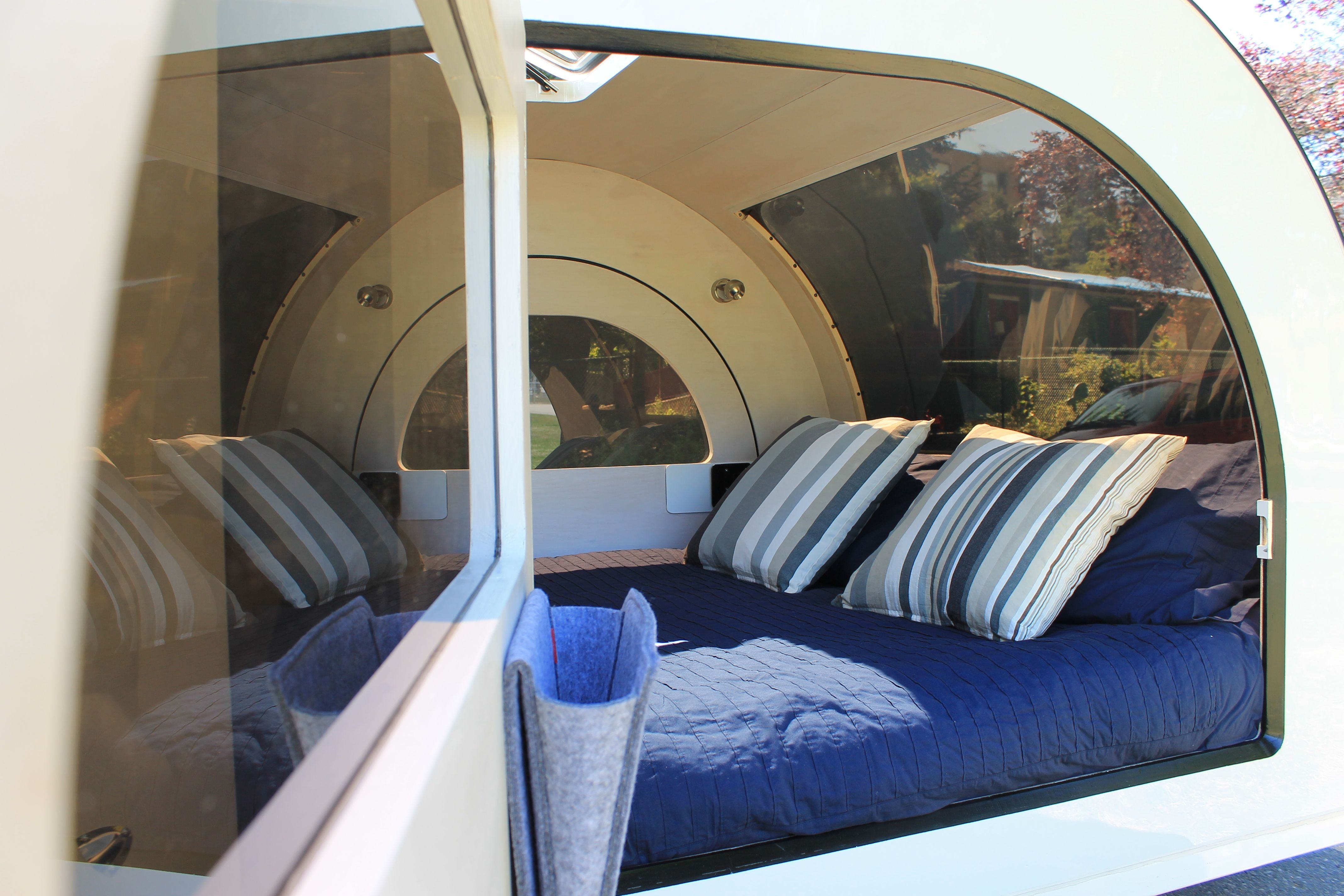 DROPLET warm and cozy! DROPLETtrailer LOVECAMPING
