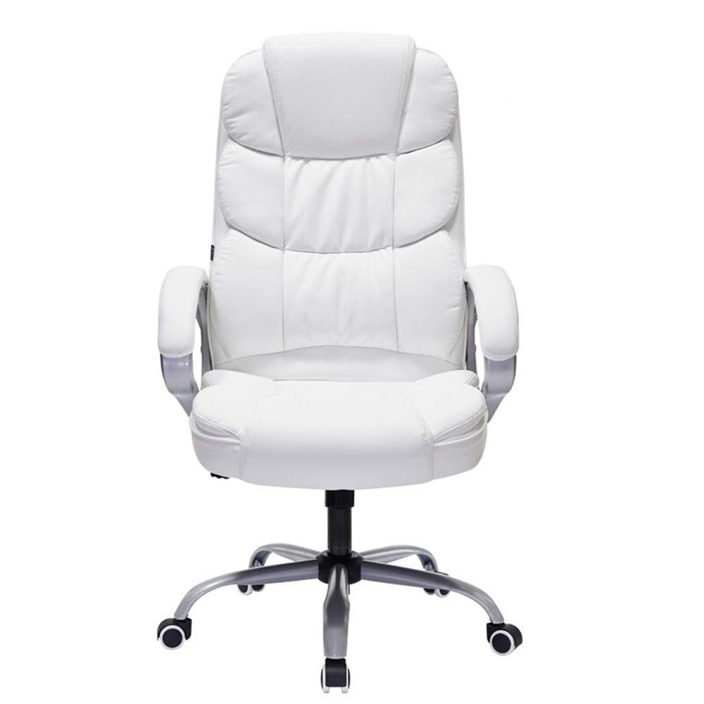 Zhouminli Home Office Desk Chairs Thicken Padded Swivel Executive