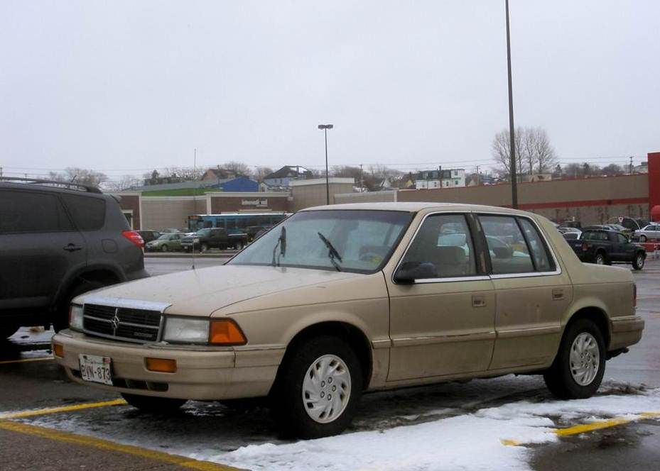 My Fifth Car 1992 Dodge Spirit