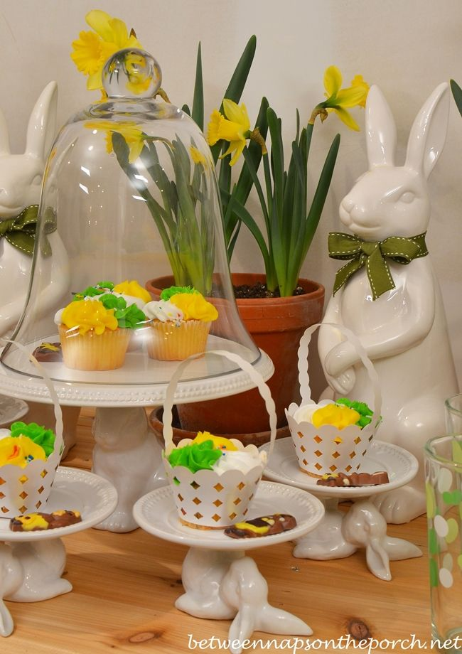 Spring Dessert Buffet for An Outdoor Party | http://betweennapsontheporch.net