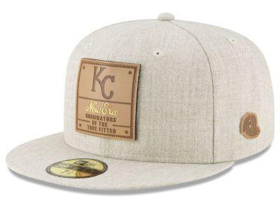 Kansas City Royals New Era MLB Vintage Oatmeal 59FIFTY Cap in 2018 ... dcfbbcb18be2