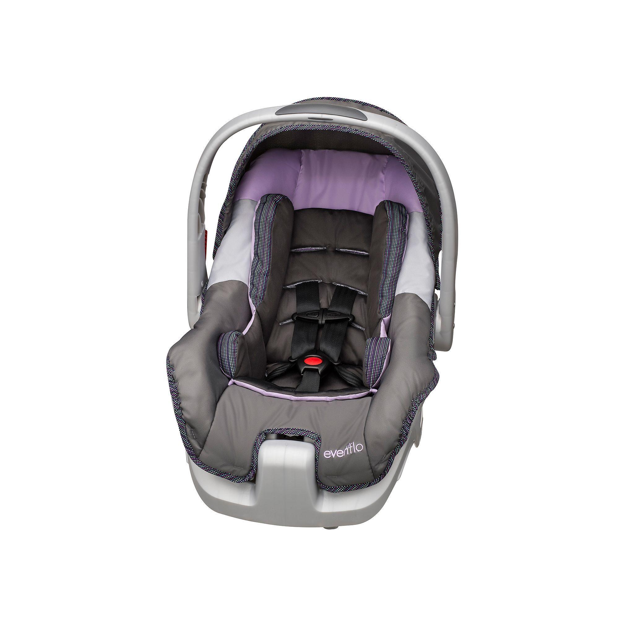 Evenflo Nurture Dlx Infant Car Seat Purple Car Seats Cheap